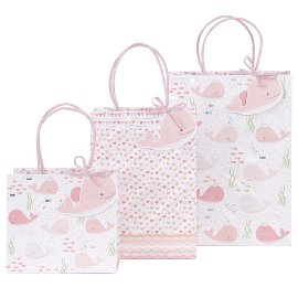Gift bag set wale rose