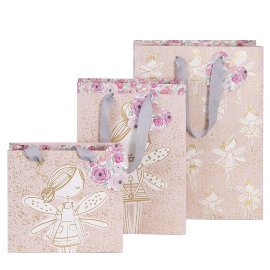 Gift bags triple assorted fairy