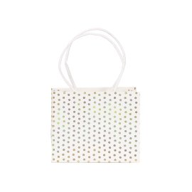Guest gift bag 6 pcs. set dots gold