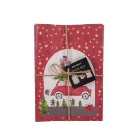 Gift bags 12pcs car red