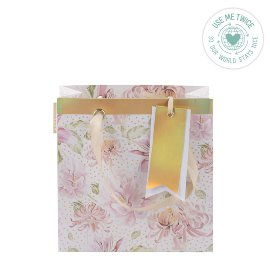 Geschenktasche Chrysanthemen