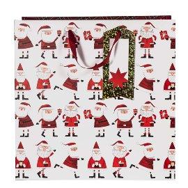 Geschenktasche Weihnachten Santa XL