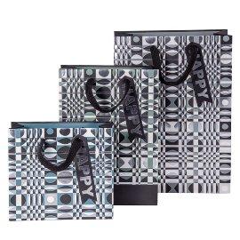 Gift bag set pattern geometry