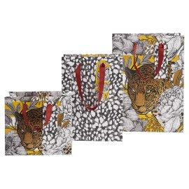Geschenktaschenset Leopard