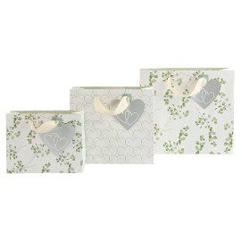 Gift bag set Eucalyptus