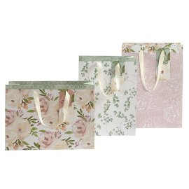 Gift bag set flowers Rose