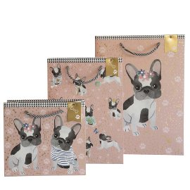 Gift bag set Doggy Chérie