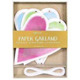 Papiergirlande Herz