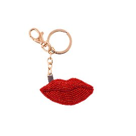 Schlüsselanhänger Perlen Kiss