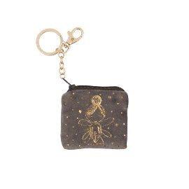 Key ring bag velvet fairy