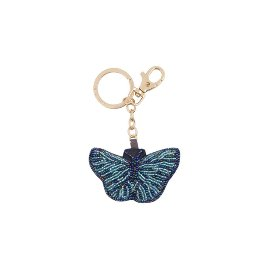 Key ring pearls butterfly