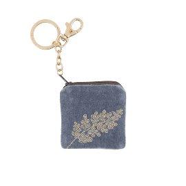 Key ring velvet pearls Branch