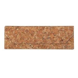 Glasses case foldable cork gold