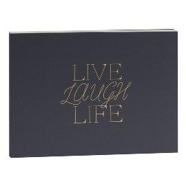 Gästebuch Live Laugh Life