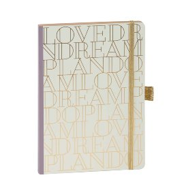 Notebook A5 Love Dream Plan Do