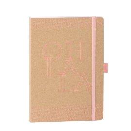 Notebook Organics kraft paper A5 oh la la