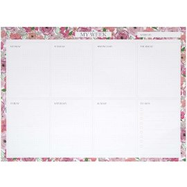 Weekly planner blossoms
