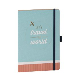 Notebook travel the world