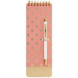 Notizblock Kugelschreiber Sonne