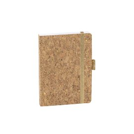 Notebook A6 Cork Gold