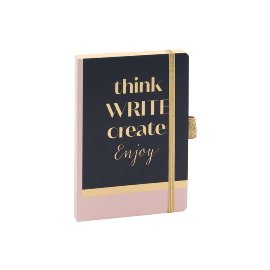 Notizbuch A6 Think Write Create Enjoy