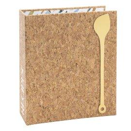 Recipe folder cork DIN A5