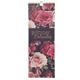 Birthday calendar roses