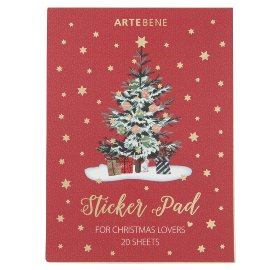 Sticker pad Christmas