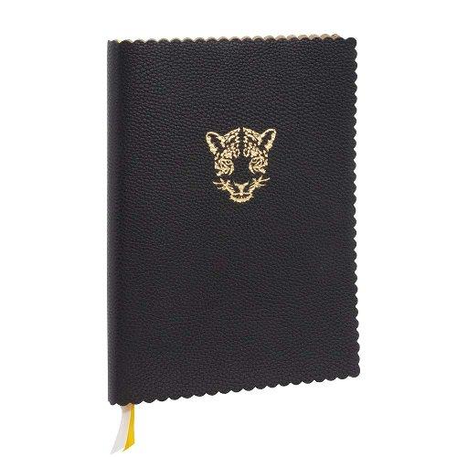 MAJOIE Notebook Leopard black