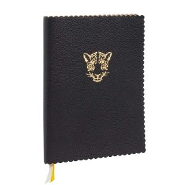 MAJOIE Notebook Leopard black