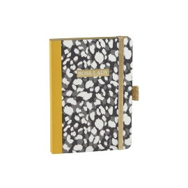 Notebook A6 boyy lady leoprint