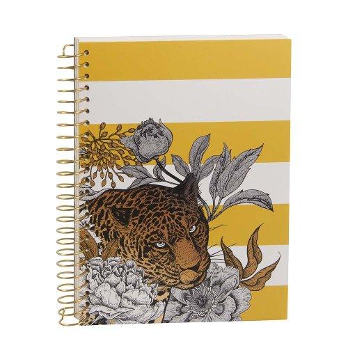 Notebook Spiral Leopard