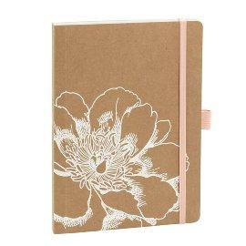 Notebook Organics kraft paper Blossom DIN A5