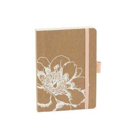 Notebook Organics kraft paper Blossom DIN A6