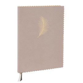 MAJOIE Notebook feather nude