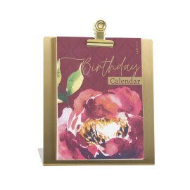 Geburtstagstischkalender Aquarellrose
