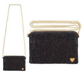 pearl bag/crossover/22x13cm