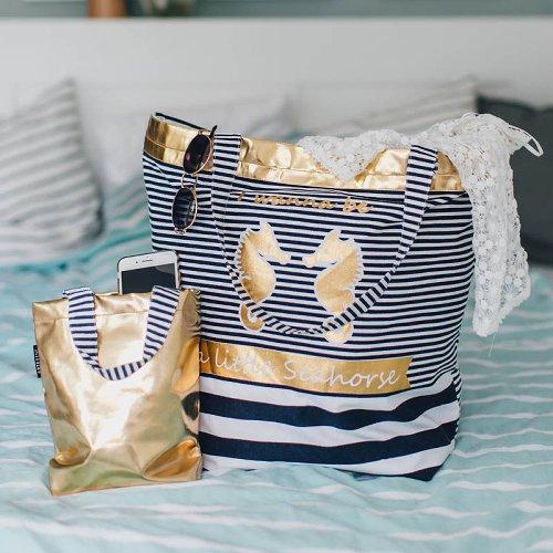 beach bag/cotton/45x57cm