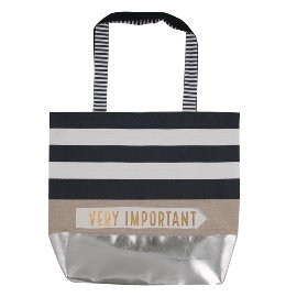 shopper bag/cotton/43x37,5cm