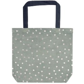 shopper bag/velvet/43x37,5cm