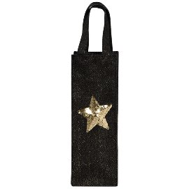 gift bag/jute/12x35cm