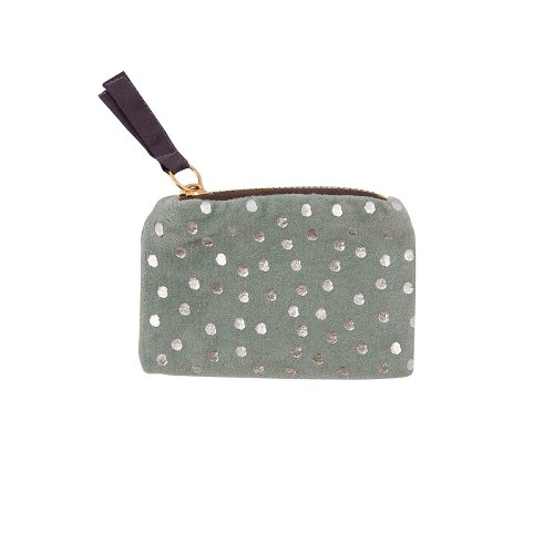 coin pouch/velvet/12x8cm