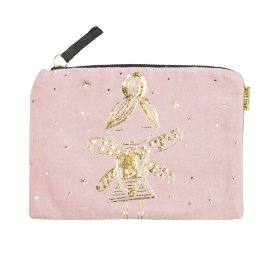 Cosmetic bag fairy rose