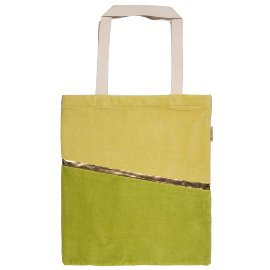 Shopper favourite bag velvet green