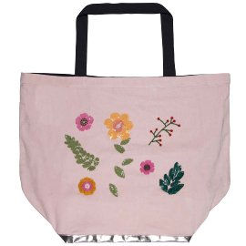 Beach bag flowers