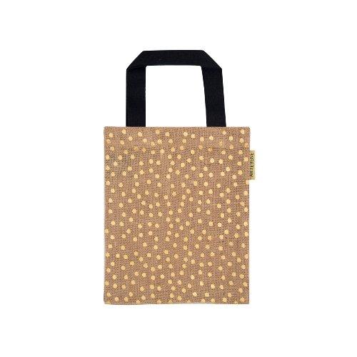 Organics/gift bag/jute/20x24cm