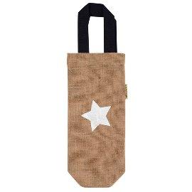Organics/gift bag/jute/15x35cm