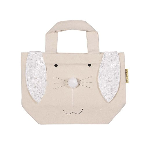 Rabbit bag easter white