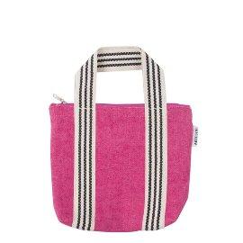 Mini Bag Organics Jute Pink
