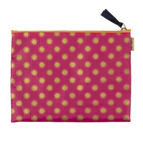 Travel Organizer 3 pcs. set pink orange creme